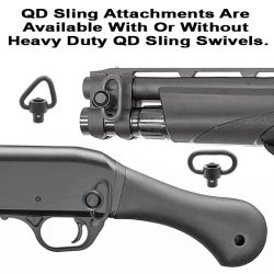 Remington TAC-13 Quick Detach Front And Rear Sling Attachments