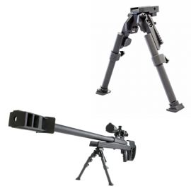 LCB-3 Heavy Duty Tactical Bipod (Large Caliber Bipod)