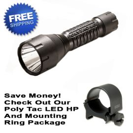 STREAMLIGHT PolyTac LED HP Tactical Flashlight