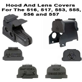 EOTech Scope Hood And Lens Cover Combo For The 516, 517, 553, 555, 556, and 557: