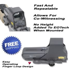 EOTech Scope Accucam Quick Detach Mounting System For The 511, 512, 551 And 552 Red Dot Scope