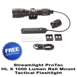 Streamlight ProTac Rail Mount HL X 1000 Lumen Flashlight
