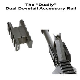 "The ""Dually"" Dual Rail Front Sight Accessory Mount"