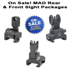 AR MAD Front And Rear Sight Packages