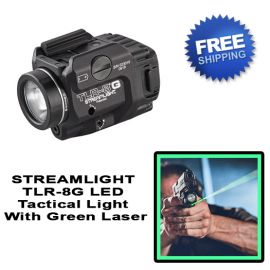 STREAMLIGHT TLR-8G Tactical Weapon Light With Green Laser