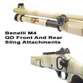 Benelli M4 Quick Detach Front And Rear Sling Attachments