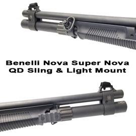 Benelli Nova SuperNova Quick Detach Sling And Flashlight Mount