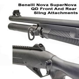 Benelli Nova SuperNova QD Front And Rear Sling Attachments