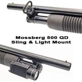 Mossberg 500 Quick Detach Sling And Flashlight Mount
