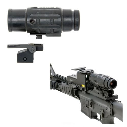 Aimpoint 3X Magnifier Quick Detach Multi-Flex Base And Adapter