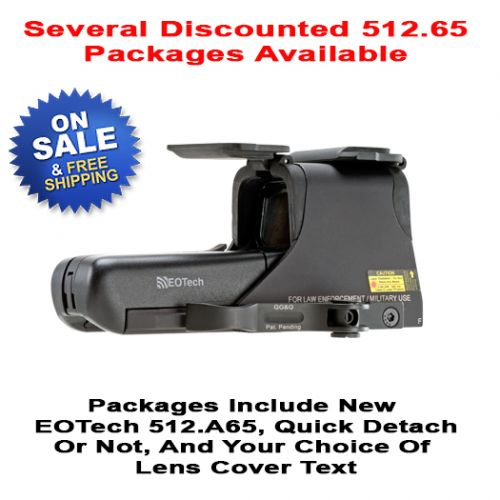 EOTech 512.a65 Scope Package Deal