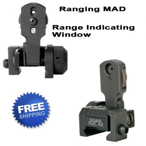 MAD Back Up Iron Sight With Ranging Aperture