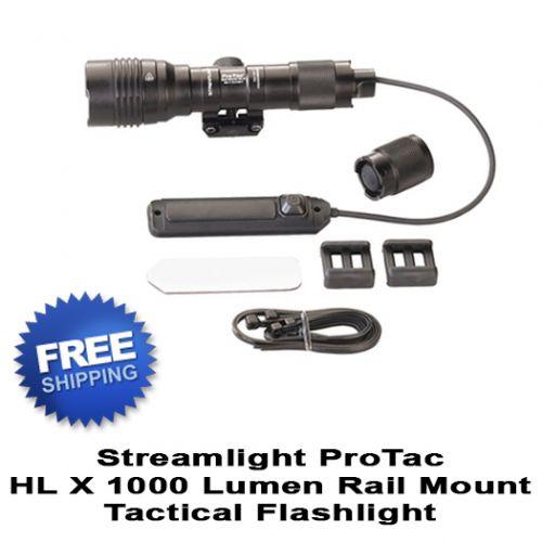 Streamlight ProTac Rail Mount HL X 1000 Lumen Flashlight