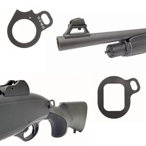 Beretta 1301 Tactical Shotgun Front And Rear Looped Sling Attachments