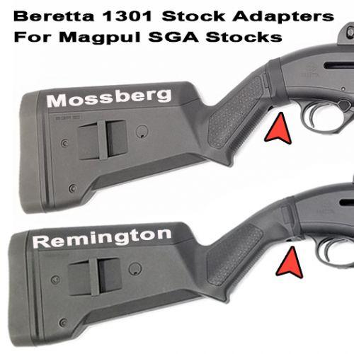 Beretta 1301 Stock Adapters For Magpul SGA Stocks